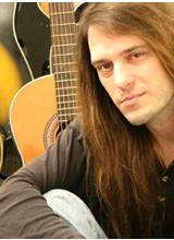 Guitar Technician Steve Mindick with Guitars